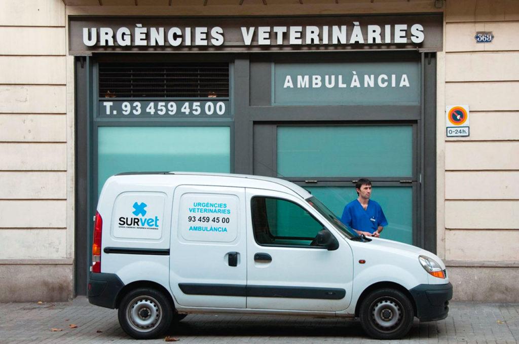 Servicios para veterinarios: Ambulancia Veterinaria
