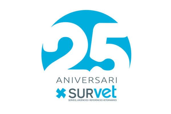 El 2020, a SURvet, celebrem el nostre 25è aniversari
